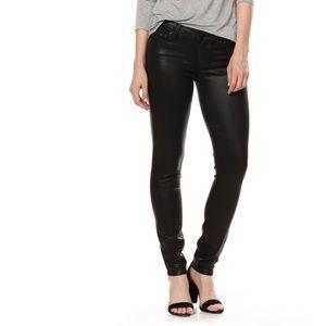 PAIGE Transcend Verdugo Coated Skinny Jeans